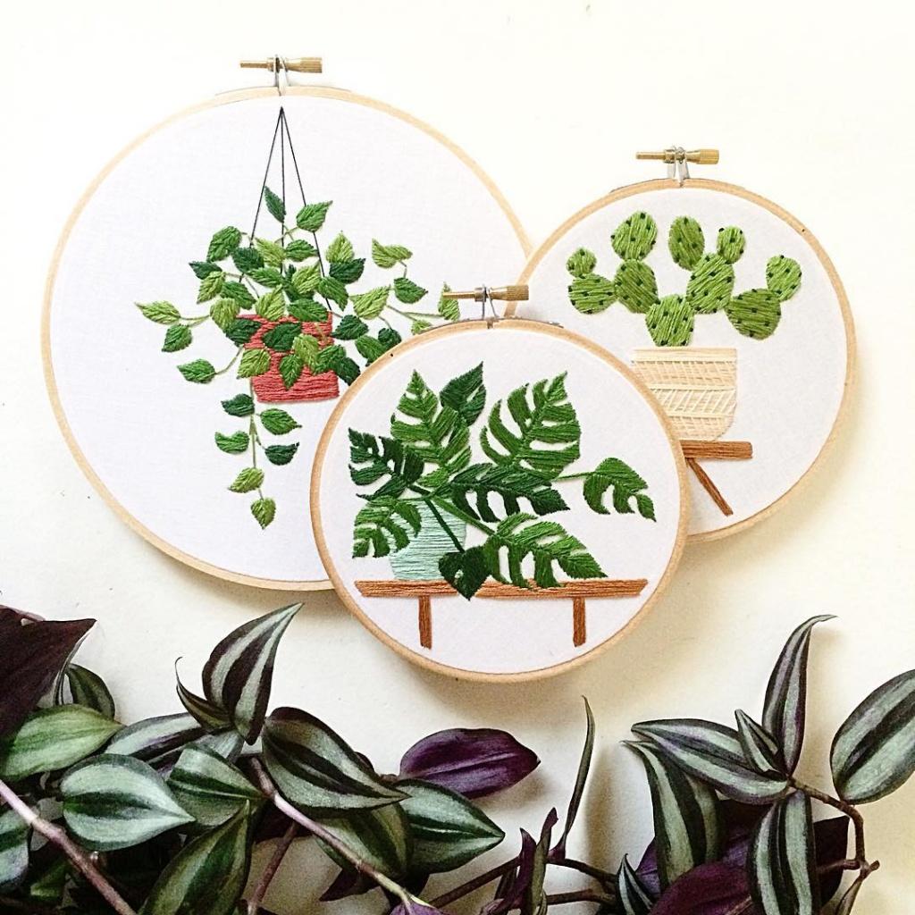 la brodeuse de plantes ma plante mon bonheur. Black Bedroom Furniture Sets. Home Design Ideas