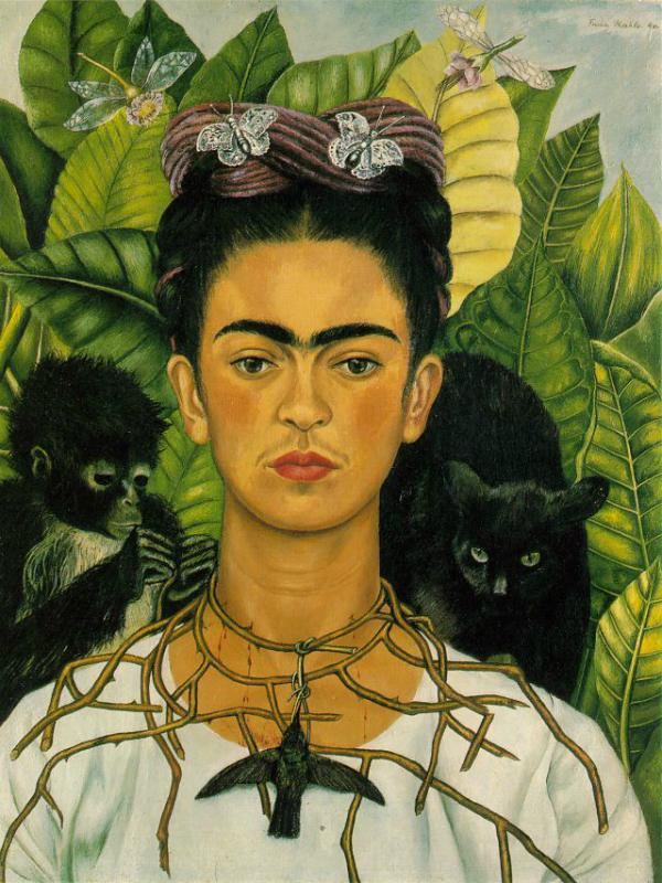 Frida Kahlo Maplantemonbonheur.fr
